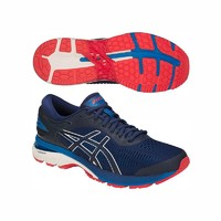 asics 亚瑟士 男士厚底高支撑网面透气专业跑步鞋 K25 超宽楦版  GEL-KAYANO 25 EW