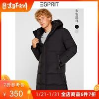 ESPRIT羽绒服男2019冬季新款90%灰鸭绒中长款羽绒衣潮119EE2G012 *6件