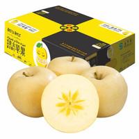 壹農壹果 新疆阿克蘇黃金冰糖心蘋果 10斤 果徑80-90mm 新鮮水果 年貨禮盒