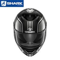 法國shark鯊魚摩托車頭盔男女士碳纖維雙鏡片四季跑賽車機車全盔 3418DAS L
