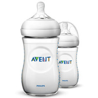 AVENT 新安怡 宽口径自然PP奶瓶 260ml 2个装 +凑单品