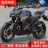 2019新款Z1000摩托車跑車國四電噴摩托車街車 磨砂黑 推薦款:電噴宗申200CC單缸六檔平衡軸風冷鏈機