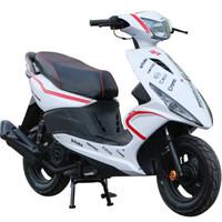 民宇 摩托車踏板車 125cc鬼火 摩托車國四電噴可上牌 白色 標準款