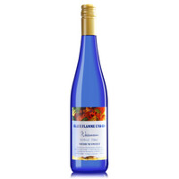 德国原瓶进口果味甜酒 蓝艳冰酒庄雷司令混酿半甜白葡萄酒750ml单支装 *3件