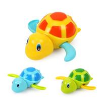 知識花園 嬰幼兒 洗澡玩具烏龜1只 顏色隨機 *10件