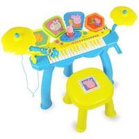 Peppa Pig 小豬佩奇 音樂鼓電子琴二合一