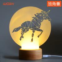 創意木質3D燈之荒原系列