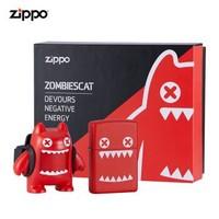 之寶(ZIPPO)打火機 魔鬼貓(套裝) ZCBEC-138 煤油防風火機