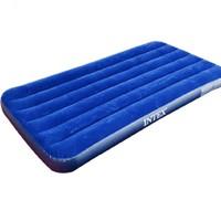 京東PLUS會員 : INTEX 68950 條紋植絨充氣床 單人