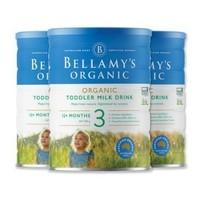 Bellamy's 貝拉米 有機嬰幼兒配方奶粉 3段 900g *3件