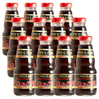 NEU'S(樂易滋)德國原裝進口果汁飲料 天然櫻桃果汁 玻璃瓶裝200ml*12瓶整箱