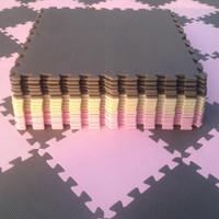 泡沫地墊拼圖家用臥室鋪地板墊子兒童爬行墊拼接爬爬墊加厚 米色 粉色 30*30*1.0