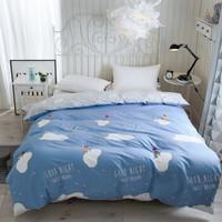 純棉單被套單件全棉被罩單件雙人床上用品