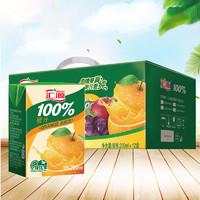 限地区:汇源 100% 果汁橙汁 200ml*12盒