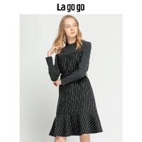 La·go·go 拉谷谷 HCLL45YH43 女士長袖連衣裙