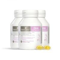Bio island 孕妇DHA 海藻油 备孕孕期胶囊 60粒 *3瓶