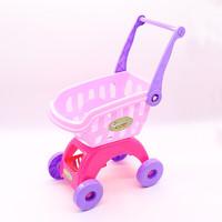 億創空間 兒童購物車玩具切西瓜切切樂寶寶貝切水果切看過家家仿真女孩蔬菜 粉色購物車