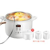 美的電燉鍋燕窩燉盅隔水燉家用全自動煲湯鍋電燉盅陶瓷煮粥鍋102