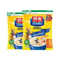 西麦 无蔗糖燕麦片 1480g*2袋