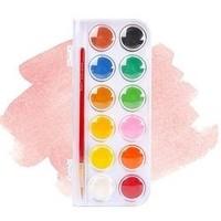 Artooo 愛涂圖 固體水彩顏料 12色盒裝