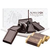 京東PLUS會員 : Alpes d'Or 愛普詩 74%黑巧克力排塊 106g *5件