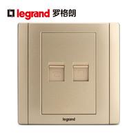 TCL-legrand 羅格朗 ERNT01/C01-C2Z 86型 電話插座