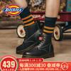 Dickies馬丁靴工裝靴女靴 平底短靴英倫真皮高幫厚底 *2件