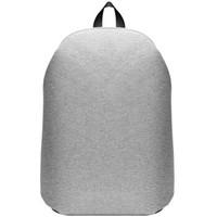 魅族(MEIZU)雙肩包背包筆記本電腦包15.6英寸 通用時尚商務休閑運動旅行包書包 灰色ZPX86