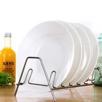 忠誠 景德鎮陶瓷圓形菜盤 8英寸 4個裝
