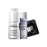 Filorga 菲洛嘉 眼霜套装 360雕塑眼霜15ml+全效眼膜1对+卸妆液20ml