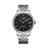天梭(Tissot)力洛克系列休閑鋼帶80機芯機械男表男表瑞士手表