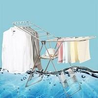访客 不锈钢翼型折叠晾衣架