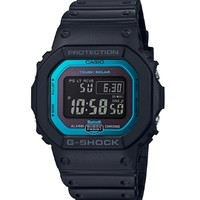 中亚Prime会员:CASIO 卡西欧 G-SHOCK GW-B5600-2 太阳能电波运动手表