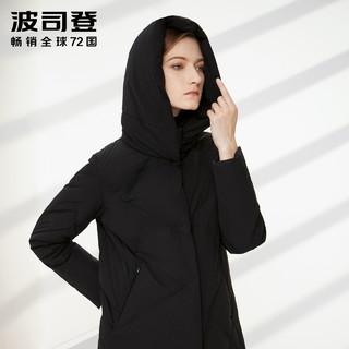 波司登2019年新款冬季中长款女士冬装时尚外套B90141114