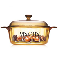 9VISIONS 康宁 VS-12 晶彩透明锅 1.25L