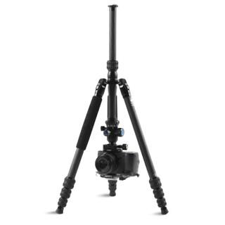 思锐(SIRUI)三脚架 JD-1204K+G-10KX 碳纤维含云台佳能尼康单反相机专业三角架  可反折收纳 可拆独脚架