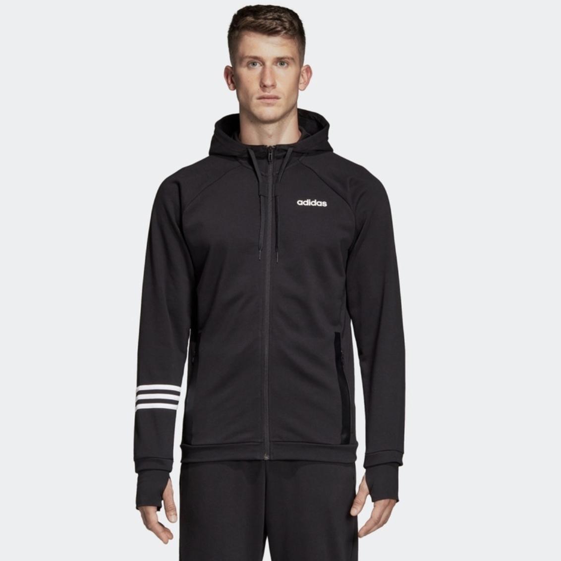 adidas 阿迪达斯 DT8994 男款休闲连帽外套