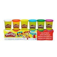 Play-Doh 培樂多 彩泥橡皮泥 6色原色款B6755 *8件