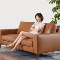 有品米粉節、歷史低價 : 8H B5 Soft 真皮沙發組合 三人位