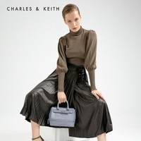 CHARLES&KEITH CK2-31190004 女士金屬扣飾手提單肩包