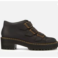 银联专享:Dr. Martens Coppola 女款真皮厚底靴