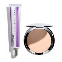 銀聯專享 : CHANTECAILLE 香緹卡 完美肌膚粉底套裝(隔離 50g+粉餅 10g)