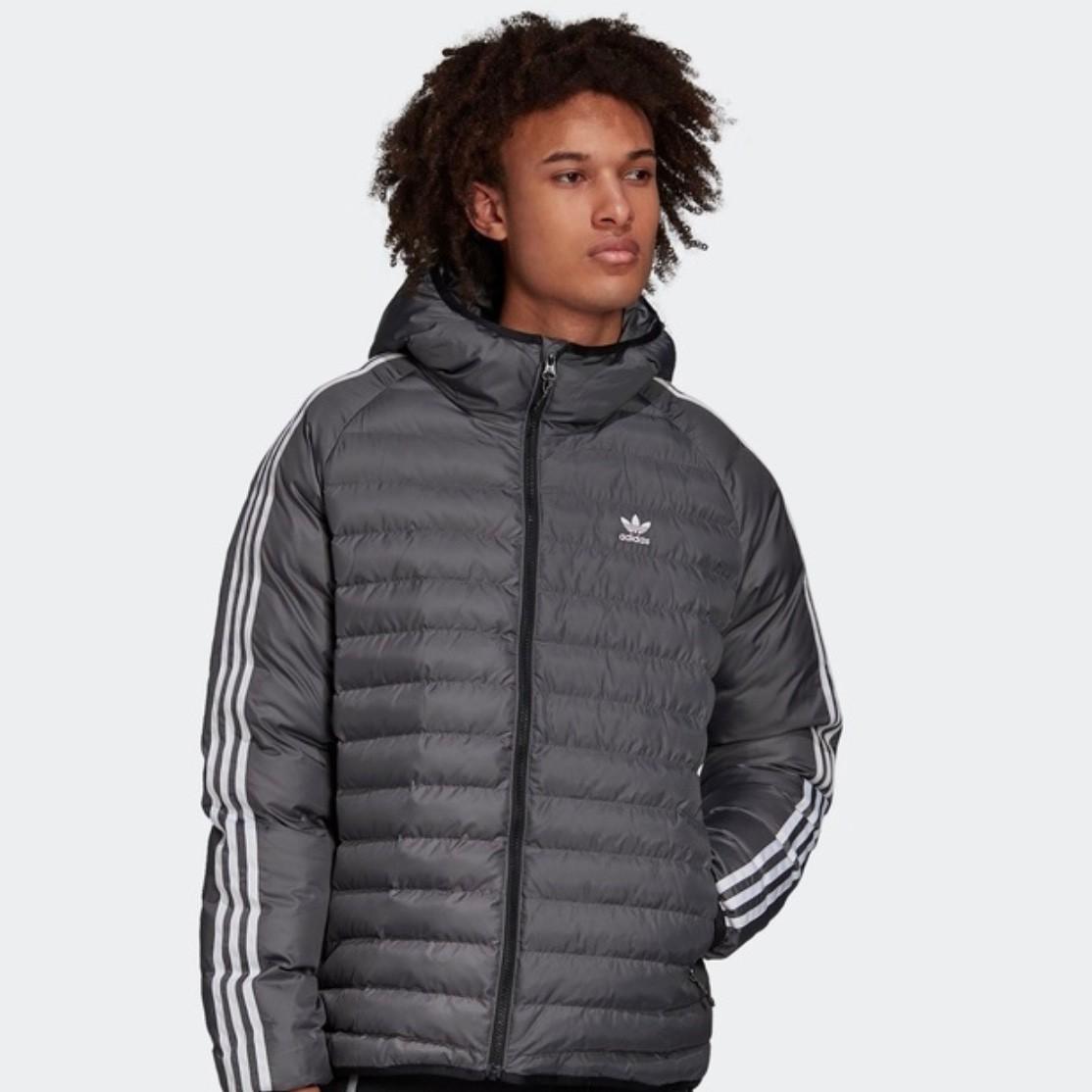 adidas 阿迪达斯 ADICOLOR JACKET BAFFLE FN0929 男款运动夹棉外套