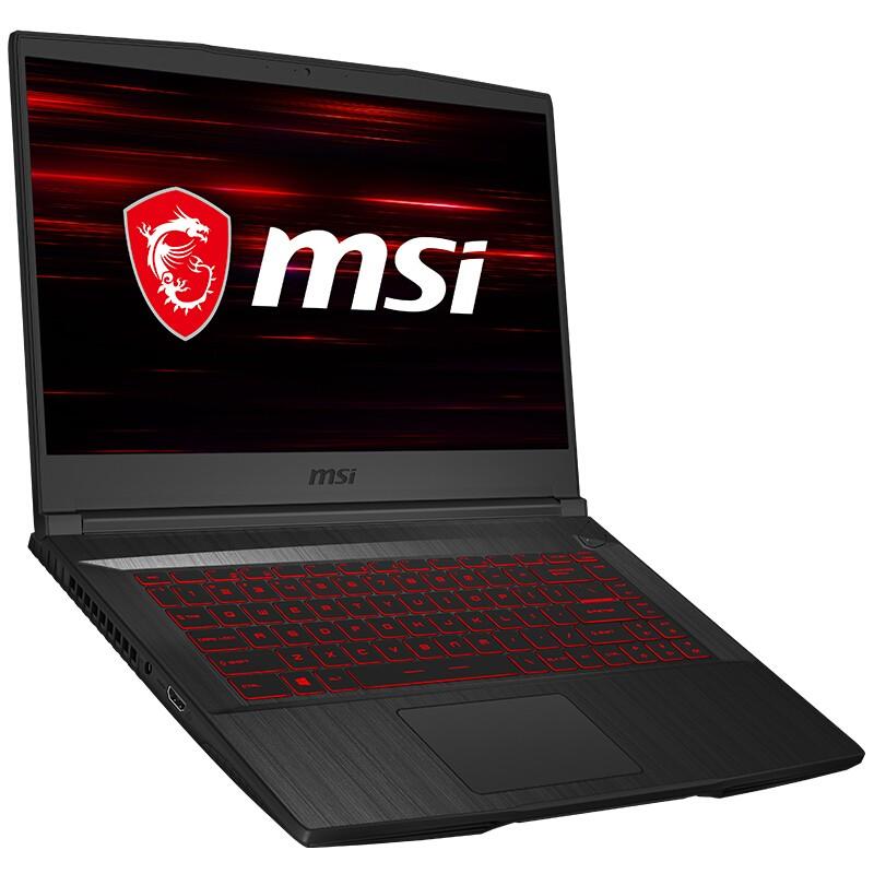 MSI 微星 GF65 15.6英寸轻薄游戏本(i7-9750H、8GB、512GB、GTX1660Ti 、120Hz)