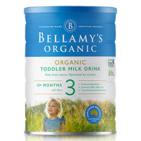 BELLAMY'S 贝拉米 婴幼儿配方奶粉 3段 900g *4件