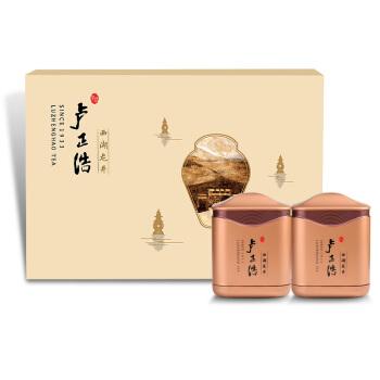 LUZHENGHAO 卢正浩 明前特级西湖龙井茶叶礼盒装春茶2019新茶 国色天香礼盒 5011252 100g