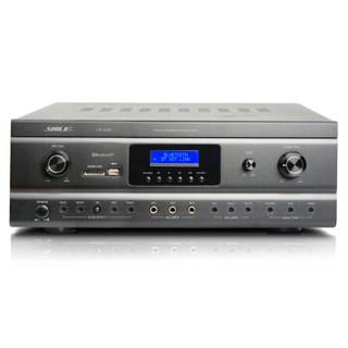 狮乐 (SHILE)OK-555A功放250W双通道高保真防啸叫大功率放大器USB 蓝牙带录音功能