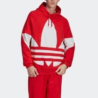 adidas 阿迪达斯 三叶草 BG TREFOIL HOOD FM9907 男款运动套头衫 *2件