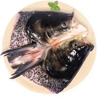 仙泉湖 国产供港花鲢鱼头 600g *8件