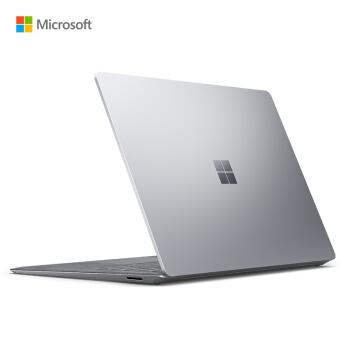 微软 Surface Laptop 3 超轻薄触控笔记本 亮铂金 | 13.5英寸 十代酷睿i5 8G 128G SSD Alcantara欧缔兰键盘